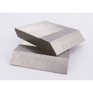 1 Pair HSS Serrated Cutter Blanks 50 x 50 x 8mm