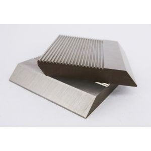 1 Pair HSS Serrated Profile Blanks 50 x 70 x 8 mm