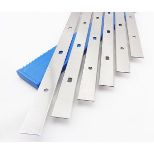 FELDER System 510 x 18.6 x 1.1mm Double Edged Disposable HSS Planer Blades 6pcs