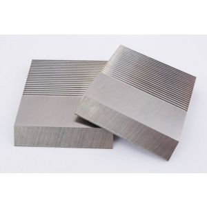 1 Pair HSS Serrated Profile Blanks 60 x 50 x 8mm