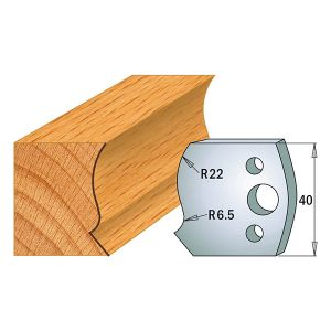 Profile No.128 40mm Euro Knives, Limiters and sets