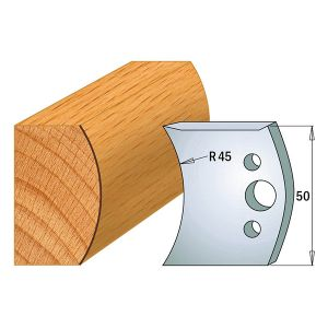 Profile No.556 50mm Euro Knives, Limiters and Sets