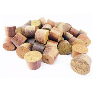 15mm IPE Tapered Wooden Plugs 100pcs