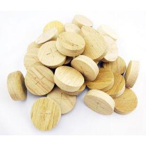 36mm English Oak Tapered Wooden Plugs 100pcs