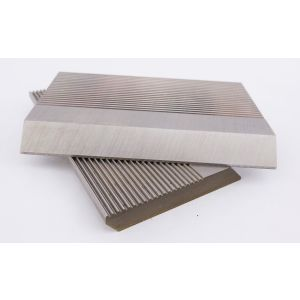 1 Pair HSS Serrated Profile Blanks 80 x 40 x 8 mm