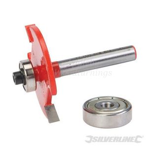"Silverline TCT Biscuit Router Cutter 1/2"" No. 10 & 20 633598"