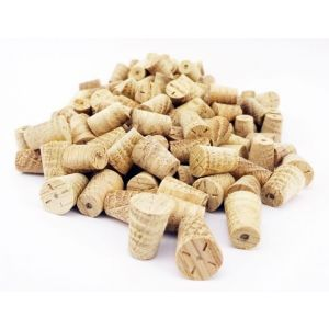 8mm American White Oak Tapered Wooden Plugs 100pcs
