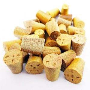 8mm Balau Tapered Wooden Plugs 100pcs