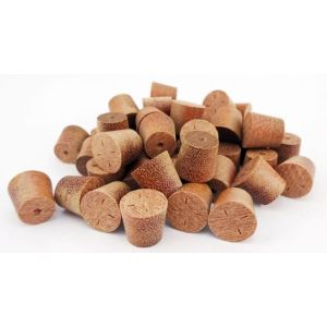 9mm Massaranduba Tapered Wooden Plugs 100pcs