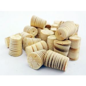 8mm Spruce Tapered Wooden Plugs 100pcs