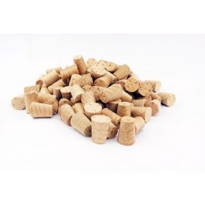 8mm Steamed Beech Tapered Wooden Plugs 100pcs