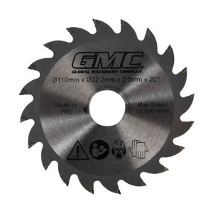 110mm GMC TCT Circular Saw Blade For Portable Plunge Saw