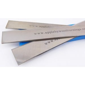 Axminster AW106P 250mm HSS Resharpenable Planer Blades 3Pcs