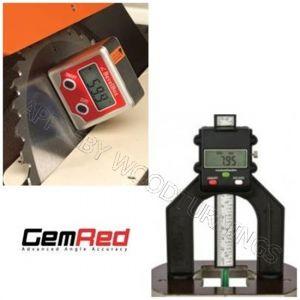 GEMRED Bevel Box + Digital Depth Gauge DOUBLE PACK