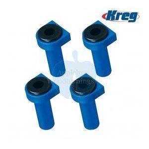 "Kreg 3/4"" (19.05mm) Squared Bench Dogs With Rubber Bench Brakes KKS1070"
