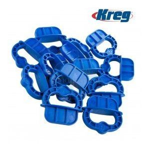 Kreg Deck Jig Blue Spacer Rings 5/16-Inch (8mm) 12 Pack DECKSPACER-BLUE