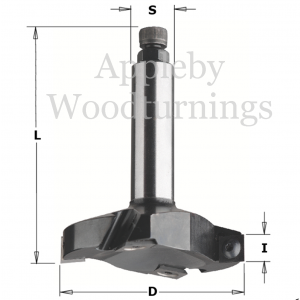 CNC Trepanning Board Skimming Tool 663.001.11