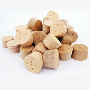 60mm CEDAR Tapered Wooden Plugs 100pcs