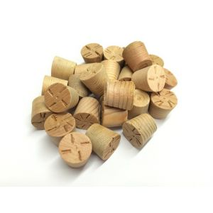 10mm Cedar Tapered Wooden Plugs 100pcs