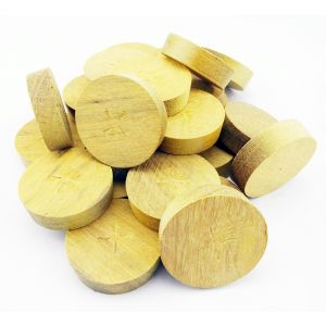 34mm Greenheart Tapered Wooden Plugs 100pcs