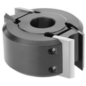 120 x 50mm x 40mm Bore Euro Profile Limiter Cutter Block