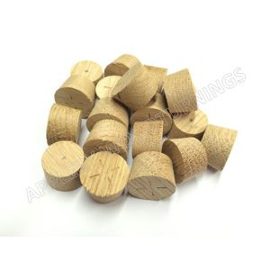20mm European Oak Tapered Wooden Plugs 100pcs