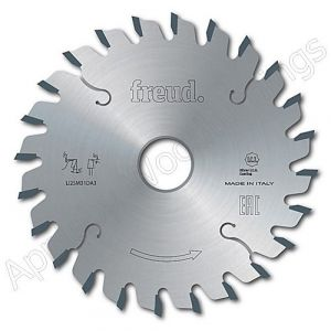 100mm Z=2x12 Id=20 Freud Conical Adjustable Scoring Saw Blade to Suit Felder Machines