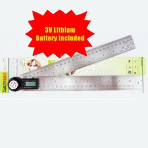 360 Degree Digital Angle Finder Gemred 280mm Rule Ruler New & Sealed