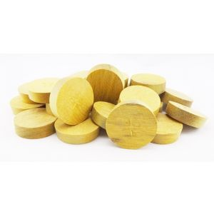 """3/8"""" Greenheart Tapered Wooden Plugs 100pcs"""