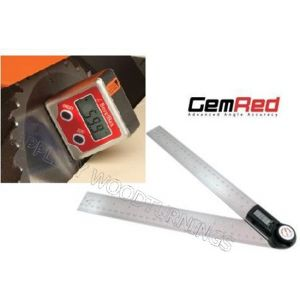 GEMRED 200mm Digital Rule + Bevel Box Angle Finders DOUBLE PACK