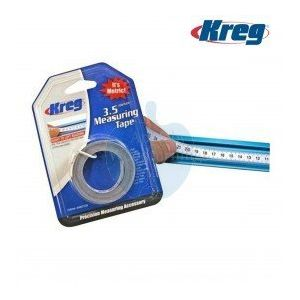 Kreg 3.5 Meter Self Adhesive Measuring Tape Metric Right to Left Reading KMS7728
