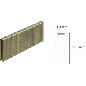 SENCO 5.8mm x 32mm STAINLESS STEEL Staples L15BGA - 5000pc