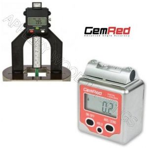 GEMRED Level Box + Digital Depth Gauge DOUBLE PACK