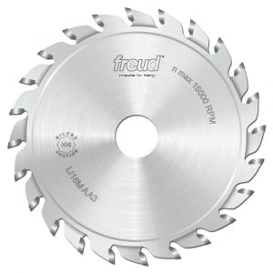 120mm Z=12+12 Id=20 Freud Adjustable Split Scoring Saw Blade