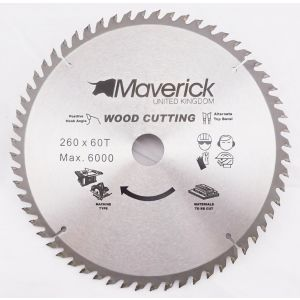 260mm Z=60 Maverick TCT Saw Blade