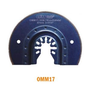 87mm Radial Saw Blade for Wood and Metal with Universal Arbor