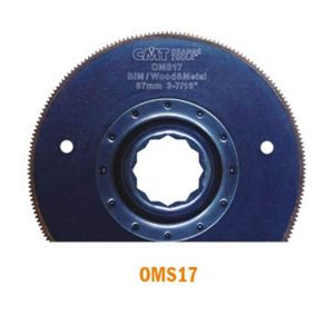 87mm Radial Saw Blade for Wood and Metal with Arbor for Fein SuperCut and Festool Vecturo