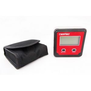 GEMRED Plastic Digital LCD Bevel Box Angle Meter Finder with Magnetic Base 1.5V AAA Battery