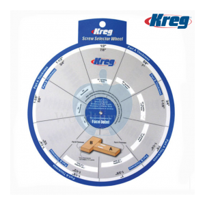 Kreg Pocket Hole Screw Selector Wheel SSW