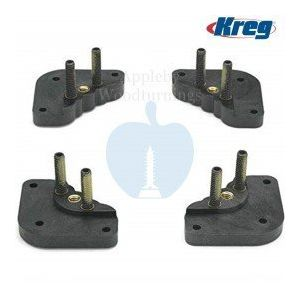 Kreg Router Insert Corner Leveling Plate Pads 4 Pack PRS3040