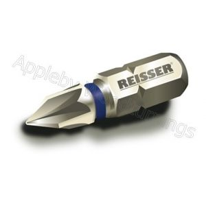 25mm Reisser Torsion Impact Bit 2pcs PZD Size Selection