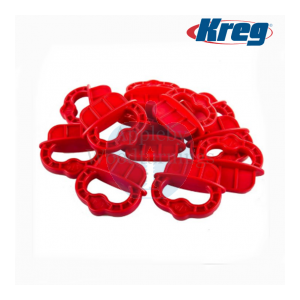 Kreg Deck Jig Red Spacer Rings 1/4-Inch (6.36mm) 12 Pack DECKSPACER-RED