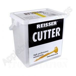 4.0 x 70mm Reisser CUTTER Woodscrews 650pc TUB