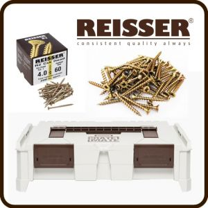 REISSER Crate Mate SSC1 Promo Offer - R2 Screw Pack Bundle