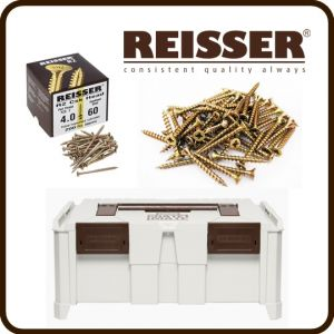 REISSER Crate Mate SSC2 Promo Offer - R2 Screw Pack Bundle