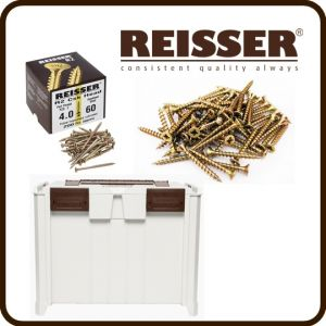REISSER Crate Mate SSC3 Promo Offer - R2 Screw Pack Bundle