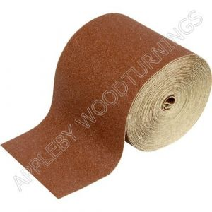 Sandpaper ROLL 115mm x 50m Various Grit Sizes