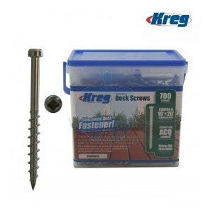 "Kreg 2"" Stainless Steel #8 Coarse Deck Fixing Screws 700pcs SDK-C2SS-700"