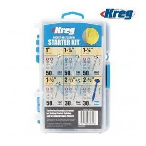 Kreg Durable Easy To Carry Pocket-Hole Starter Screw Kit 260pcs SK04-INT