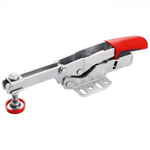 Bessey Horizontal Toggle Clamp With Open Arm and Horizontal Base Plate & Accessory Set